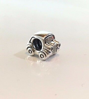 Pandora Car Charm 790405CZ Sterling Silver S925 ALE - Discontinued charm