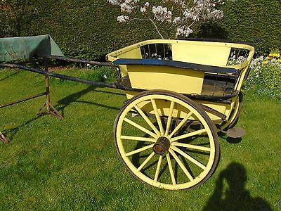 Vintage Governess Horse Cart Carriage