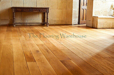 Solid Oak Flooring Real rustic classic Wood Wooden Floor Lacquered Hardwood