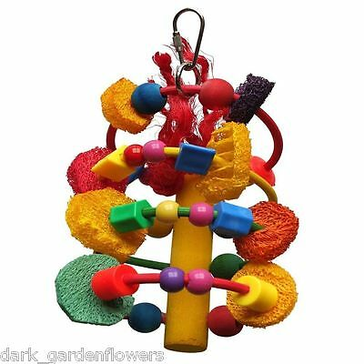 Helter Skelter Toy  for Medium  Parrots Size Parrots Amazon African Grey