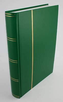 Green Sarum Giant 32/64 White Page Stamp Album/Stockbook