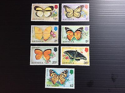 Antigua 1975 Butterflies of the Island(complete set in mounted mint)1/2c to $2