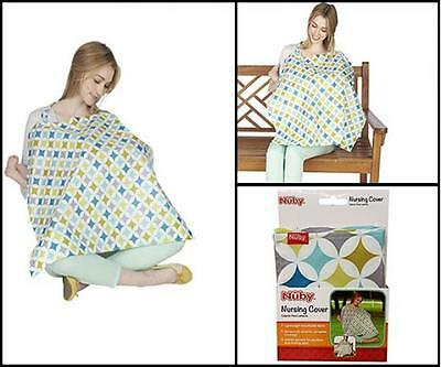 Baby Products Womens Breast Feeding Tools Cloth Nuby Nursing Cover Cotton Kit