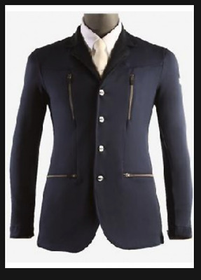 Animo Mens Show Competition Jackets Navy & Grey  BN