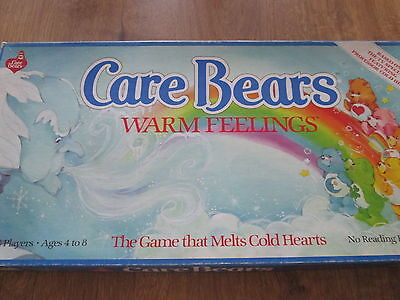 Vintage Care Bears Warm Feelings Toy Board Game 100% Complete 1980s
