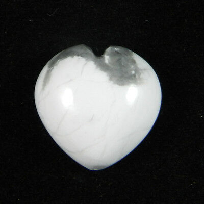 Awesome Natural Howlite Gemstone 1 pcs 14mm Heart Cab 12.3 cts Stones ER6434