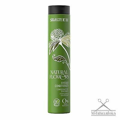 (€5,91/100ml) SELECTIVE Professional NATURAL FLOWERS Hydro BIO Conditioner 250ml