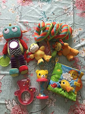 Bundle Of Baby Toys Buggy Toy Robot Rattles Book