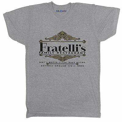 Goonies Fratellis Comedy Crime Funny Film Movie Tumblr 90s Retro Grey T Shirt