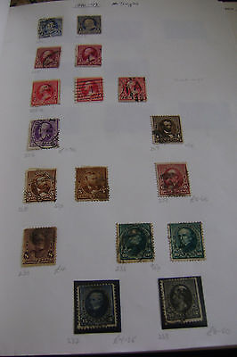 United States of America postage stamps 1880's/90's