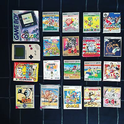 Nintendo Game Boy Japan Lot Sony Ps4 Vintage Retro Gaming Sega