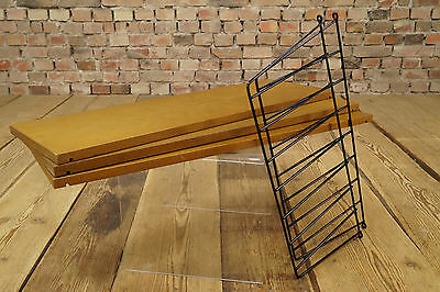 60er Danish Modern STRING REGAL WANDREGAL LADDER SHELF REGALSYSTEM BÜCHERREGAL 3