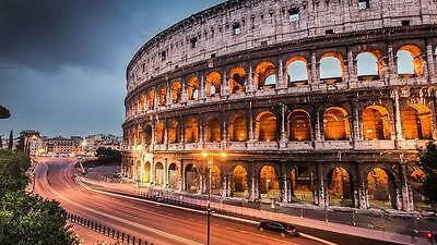 Return Flight Tickets from London to Rome 13-16th August