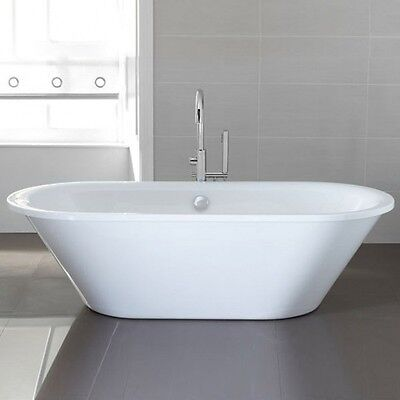Luxury Modern April Haworth Skirted Freestanding Bath 1800mm x 800 Designer Tub