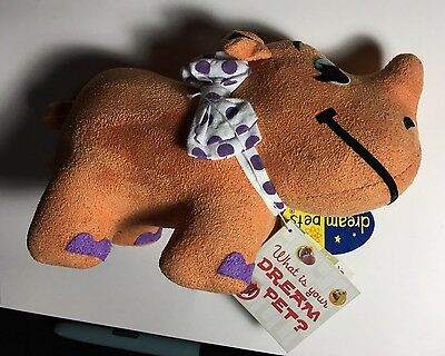 Dream Pets Dakin Rhinestone Rhino #14 Stuffed Animal