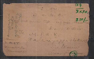 cover from british  india to sitkwin burma    a102.90