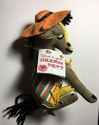 Dream Pets Dakin Pancho #18 Donkey Stuffed Animal