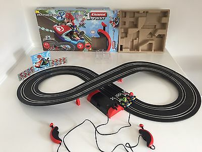 Nintendo mario kart 8 scalextric Racing Cars Track Kids Toy Boxed