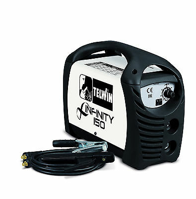TELWIN INFINITY 150, 230v 130 amp MMA welding kit with accessories