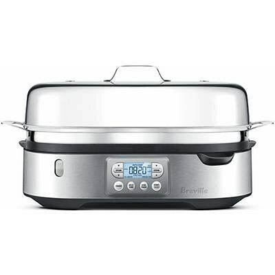 Breville The Food Steamer Steam cooking Zone BFS800BSS stainless steel 2200W