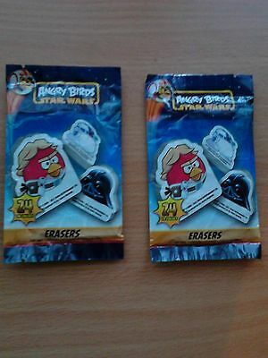 Angry Birds Star Wars Erasers