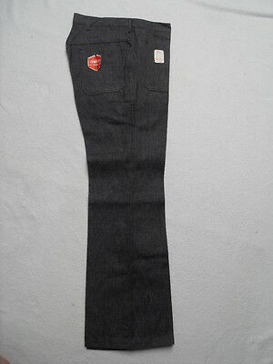1970s HIGH RISE FLARED JEANS - UNUSED VINTAGE STOCK