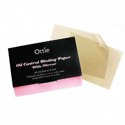 Korean Skincare Ottie Oil Control Blotting Paper, Sheets