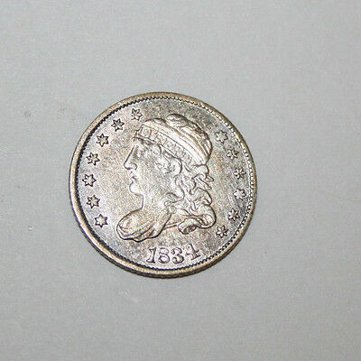 1834 Capped Bust Half Dime   A05