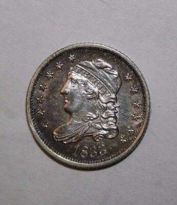 1833 Capped Bust Half Silver Dime CC33