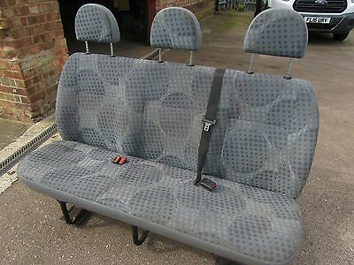 Ford Transit Crew Cab/double Cab Rear Seats With Seatbelts