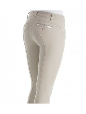 Animo NoLimitMET breeches Beige & Navy with animo gripping BN