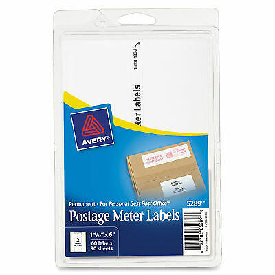 Avery Permanent Postage Meter Labels  - AVE05289