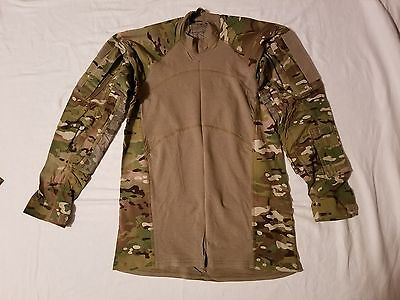 Massif Gear Multicam Combat Shirt Medium-Regular  Made Usa Military Issue Acu