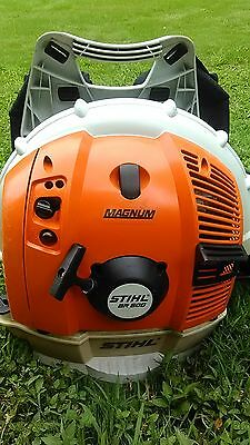 Stihl BR600 Magnum Professional Commercial Back Pack Leaf Debris Blower