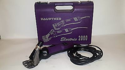 Hauptner Electric 2000 Schafschermaschine 896 Schermaschine Clippers Schaf Lamm