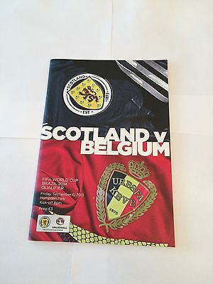 SCOTLAND v BELGIUM 2013/14 (World Cup Qualifier)