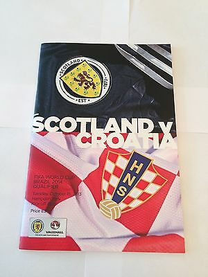 SCOTLAND v CROATIA 2013/14