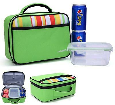 Thermal Insulated Tote Lunch Box Kids Food Storage Cooler Fits School Bag Travel