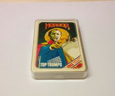Top Trumps~Horror 'Dracula' Card Game (1978 Set by DUBREQ) **VERY SCARCE**