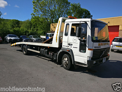 2000 Volvo FLC recovery truck transporter 9 months mot, low miles 7.5t. inc VAT