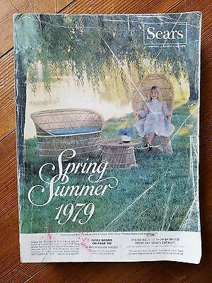 1979 SEARS vintage SPRING & SUMMER Catalog department store fashion home