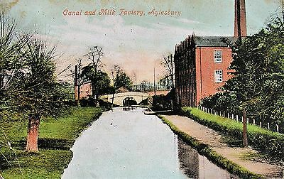 Caal & Milk Factory Aylesbury Buckinghamshire 1905 Pc
