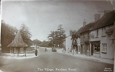 Animated Farnham Royal Buckinghamshire 1948 Wha Rp Pc