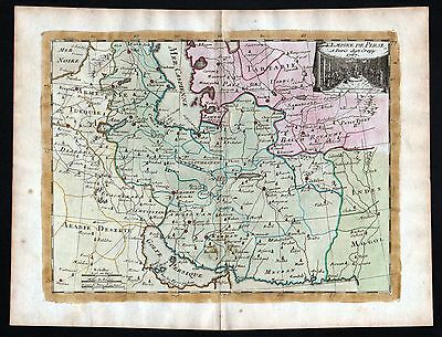 1767 Persia Iraq Iran Saudi Arabia Karte map Kupferstich antique print Le Rouge