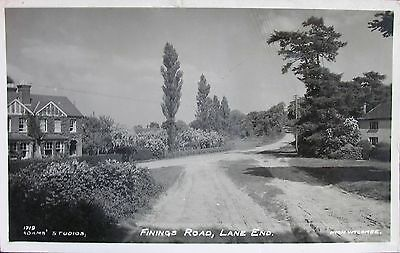 Finings Road Lane End High Wycombe Buckinghamshire 1937 Rp Pc
