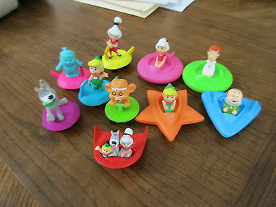 1989  Jetsons Hanna Barbera Wendy's Kid Meal Happy Meal (Mixed Lot )