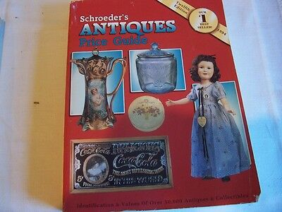Schroeder's Antiques Price Guide 1994 Edition Vgc 603 Pages