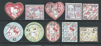 Japan - Hello Kitty - 2016 - 82y - Complete Used