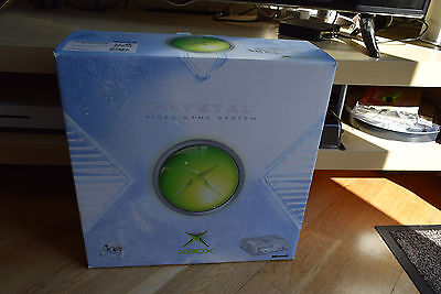 Microsoft Xbox Crystal Console BOXed Mint