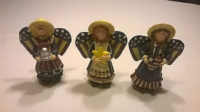"""4th of July Patriotic Angels 5 1/2"""" Tall"""